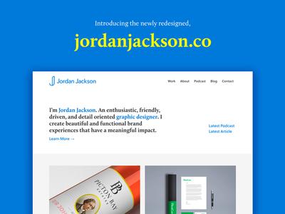 Portfolio Website Redesign toronto layout typography brand ux ui launch semplice portfolio redesign website web