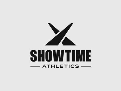 Showtime Athletics Rebrand modern bold typography type rebrand identity visual branding brand symbol logotype logo