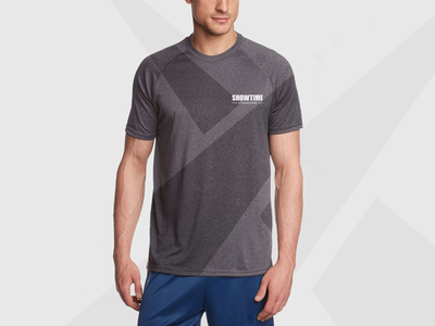 Showtime Athletics Apparel Reveal gym fitness symbol logotype logo brand branding clothing apparel