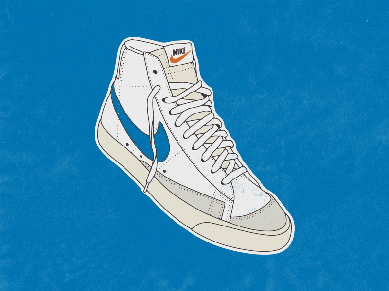 Blue Blazer '77 by Kevin Post on Dribbble