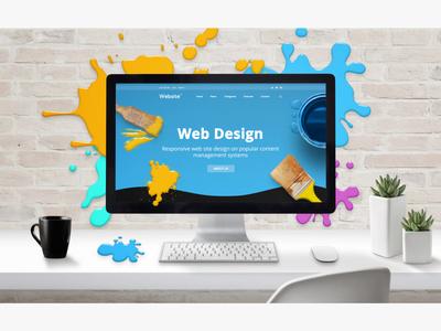Web Design studio concept