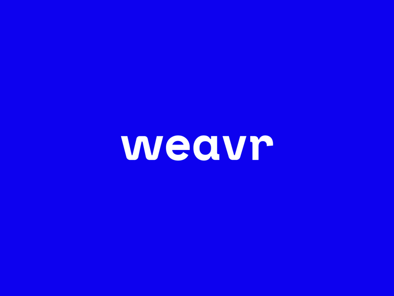 Weavr logotype payments platform payments branding payments logo payments vibrant monospace brand development brand identity brand design logo design weaver weave logotype logo fintech branding