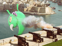 The Grand Harbour Monster