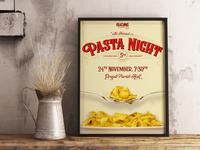 Pasta Night Poster