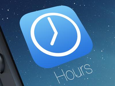 Hours iOS 7 Icon