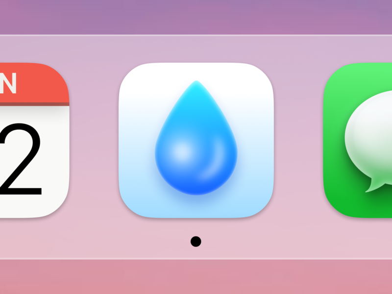 Drop Big Sur App Icon big sur app colors hex mac drop water icon shiny picker palette swatches rgb