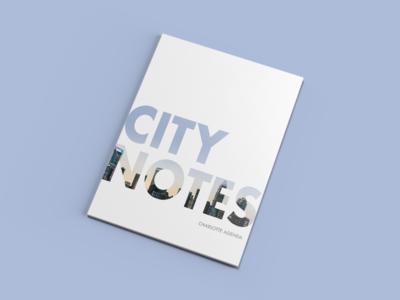 Charlotte Agenda Magazine - City Notes zine spread simple clean ca white space cover magazine agenda charlotte