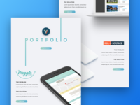 Levvel's Portfolio - Desktop