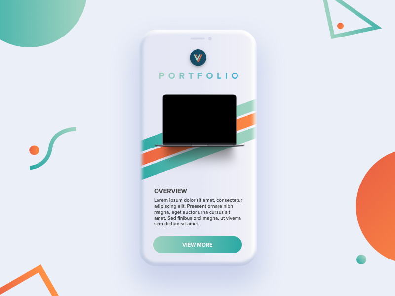 Levvel portfolio mobile