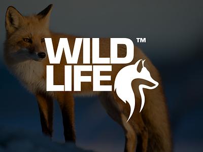 Wildlife - Logotype logo design wildlife logo design wolf logo fox logo logomark logotype wildlife identity logo design branding brand identity design animal logo design