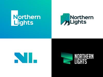 Northern Lights - Logo Concepts logo design brand identity design logo