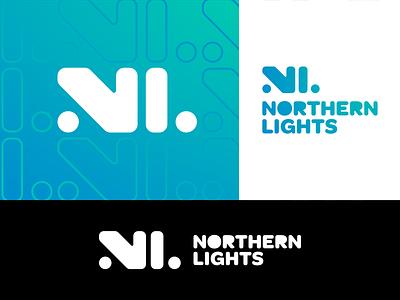 Northern Lights - Logo Lockups design identity aurora borealis northern lights logo design branding brand identity design logo