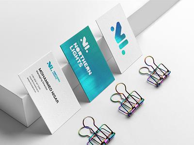 Northern Lights - Business Cards graphic design business cards business card design business card brand identity design