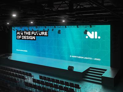 "Northern Lights - ""What if"" branding graphic design brand identity design"