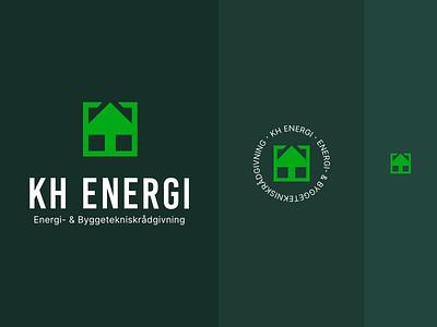 KH ENERGY - Responsive logo arrow home house identity brand logos responsive responsive logo logo design branding
