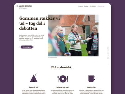 New website - Scouts scouting scout ux web branding ui design