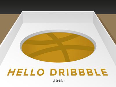 Hello Dribble box debut thanks hello