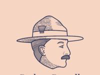 Baden Powell By Steffen Muldbjerg Dribbble Dribbble