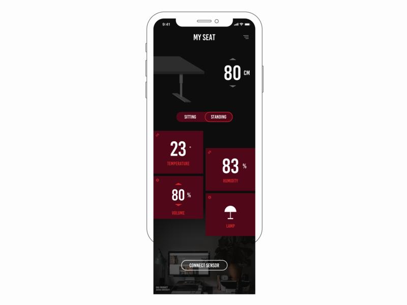 My Seat App design interface ui app design app application