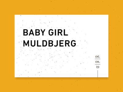 Babygirl Muldbjerg