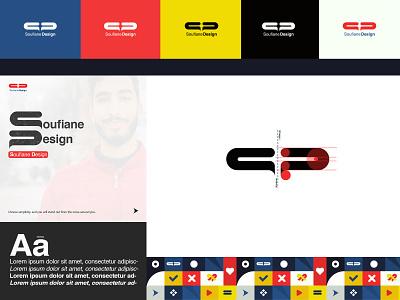 Soufiane Design's Brand logoinspiration logodesigner brand inspiration design illustration typography branding logo graphic design