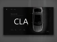 Mercedes-Benz Website Concept