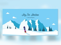 Snowy hero image