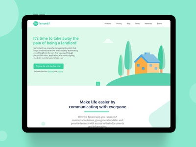 Landing Page Redesign Concept