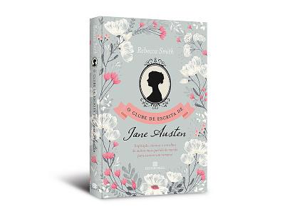 """Cover design """"O clube de escrita de Jane Austen"""""""