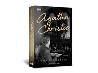 """Cover design of """"Agatha Christie uma biografia"""""""