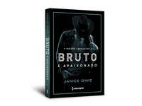 "Cover design of ""Bruto e apaixonado"""