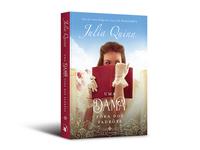 """Cover design of """"Uma dama fora dos padrões"""""""