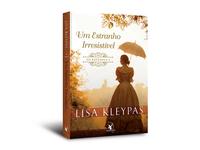 """Cover design of """"Um estranho irresistível"""""""