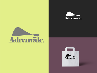 Logo design - Adrenvale. branding graphic design logo