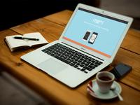 Shake:Time - New Landing Page
