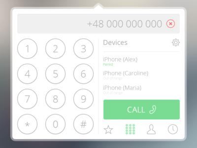 Phone Widget