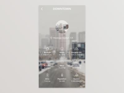 City App - Location Details