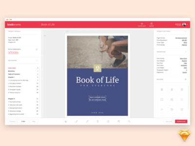 Bookworm UI Kit (demo pack)