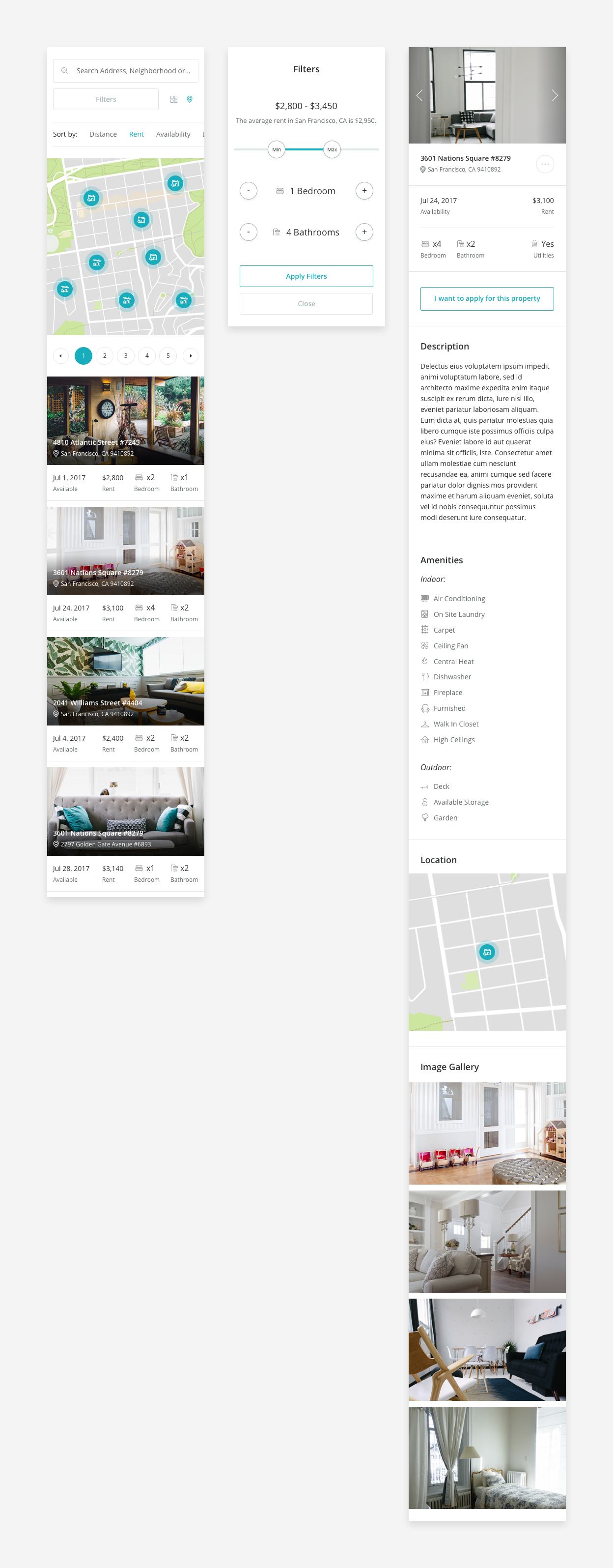 Discover properties mobile
