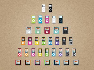 Ipod Nano All Generations By Maciej Jasinski On Dribbble