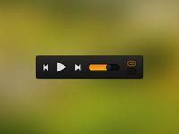 Media Control - Grooveshark'ish style