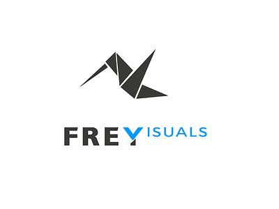 frey visualization logo logo graphic design