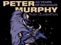 Peter Murphy (of Bauhaus)
