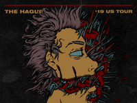 The Hague - US Tour Poster