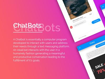Chatbot ux e-commerce message ui chatbot bot