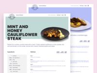 Urban Plate Recipe Page