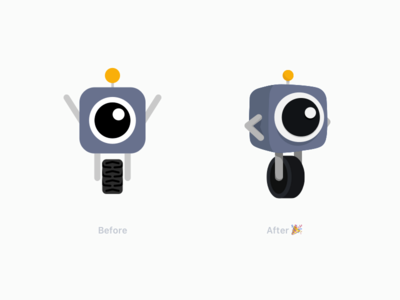 Pogo Refresh perspective 3d character illustration refresh redesign branding