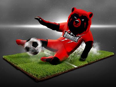 Mascot Of Football School