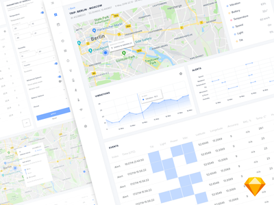 Cargo tracking system. Dashboard system tracking statistics user panel chart freebie free sketch dasboard web