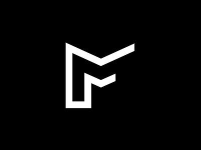 work in progress: personal logo Martin fek logo alphabet mf initials letters logotype logo